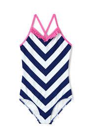 Girls Slim One Piece Swimsuit