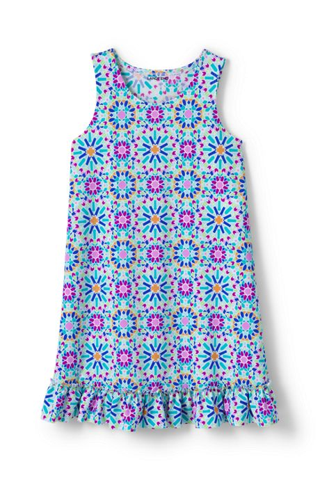 Toddler Girls Swim Dress Cover-up