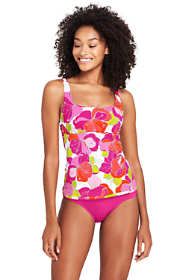 Women's Underwire Square Neck Tankini Top