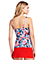 Women's Beach Living Square Neck Tankini Top
