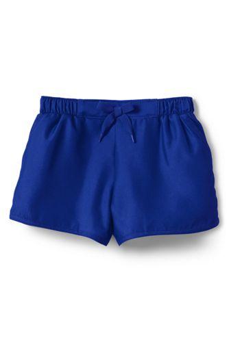 Badeshorts SMART SWIM für kleine Mädchen - Blau - 110/116 von Lands' End 493937