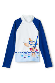 Little Girls Long Sleeve Rash Guard