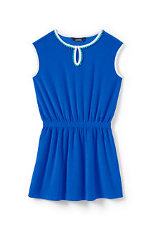 Girls' Sleeveless Terry Cover-up