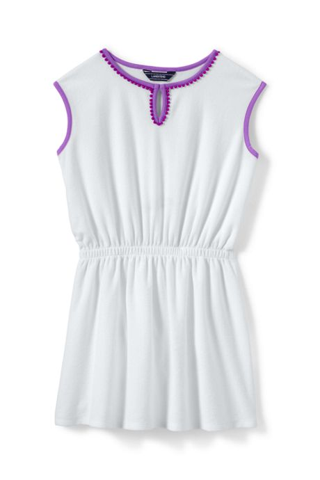 Little Girls Terry Swim Cover-up