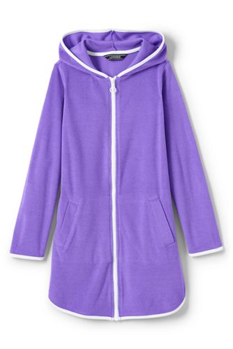 Toddler Girls' Terry Hooded Cover-up