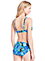 Women's Beach Living Twist Bikini Top Deco Floral