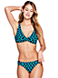 Women's Beach Living Twist Bikini Top Shadow Geo