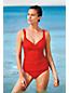 Women's Beach Living Wrap Tankini Top