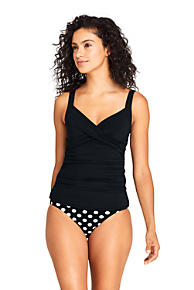 d317dd87cd Women s Wrap Underwire Tankini Top Swimsuit