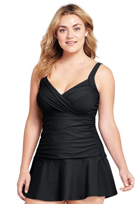 Women's Plus Size Underwire Sweetheart Dresskini Top