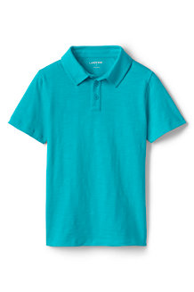 Boys' Slub Polo Shirt