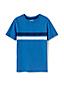 Le T-Shirt en Coton Flammé avec Rayures, Tout Petit Garçon