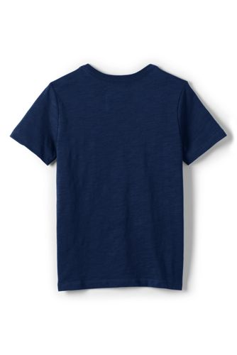 Little Boys Solid Slub T Shirt