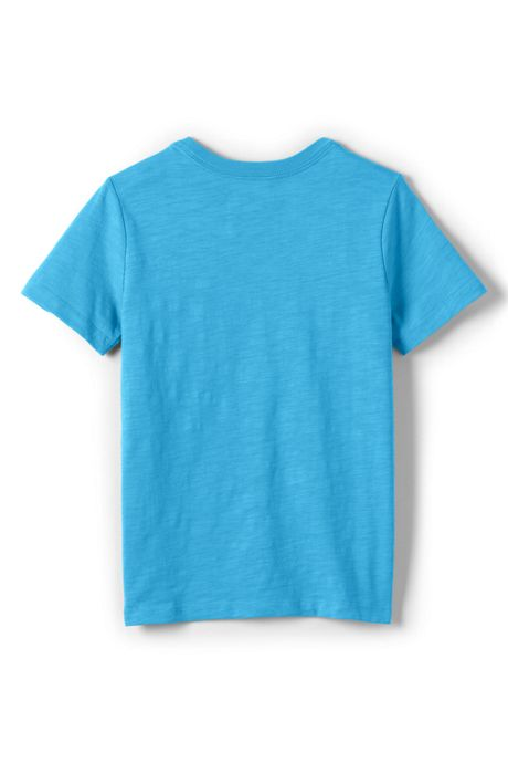 Toddler Boys Solid Slub Tee