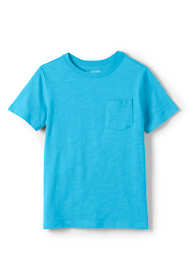 Boys Husky Solid Slub T Shirt