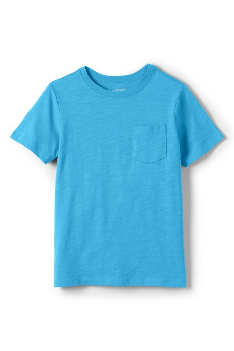 Toddler Boys Solid Slub T Shirt