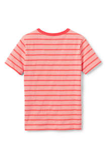 Boys Husky Stripe Slub T Shirt, Back