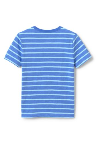 Boys Husky Stripe Slub T Shirt