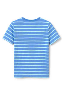 Boys Stripe Slub T Shirt, Back