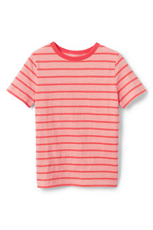 Jersey-Shirt mit Allover-Streifen für große Jungen
