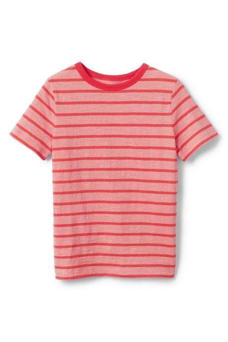 Little Boys Stripe Slub T Shirt