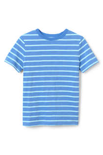 Boys Stripe Slub T Shirt, Front
