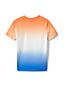 T-Shirt Dip Dye Coton Flammé, Petit Garçon