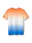 T-Shirt Dip Dye Coton Flammé, Tout Petit Garçon