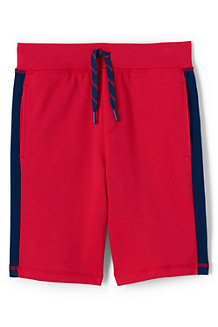 Boys Racing Stripe French Terry Short