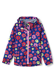 Girls Printed Windbreaker