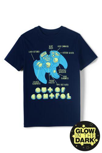 Le T-Shirt Grahique Phosphorescent, Petit Garçon