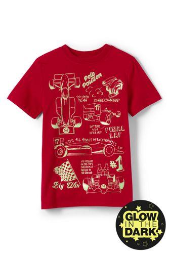 Le T-Shirt Grahique Phosphorescent, Tout Petit Garçon