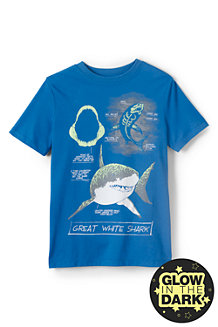 Le T-Shirt Grahique Phosphorescent, Garçon