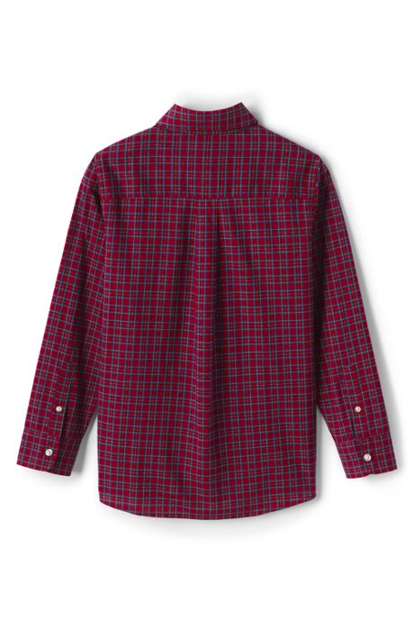 Little Boys Poplin Shirt