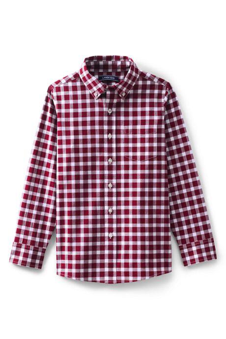 Boys Husky Poplin Shirt