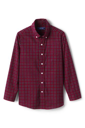 Toddler Boys' Checked Shirt