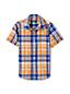 Boys' Checked Short Sleeve Shirt