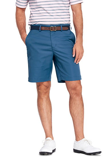 Mens Performance Chino Shorts - 30 - BLUE Lands End pIeQPmF9