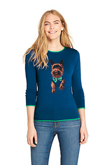 Women's Supima Cotton Novelty Jumper
