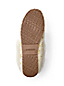 Women's Snowflake Shearling Moccasin Slippers