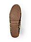 Women's Leopard Print Suede Moccasin Slippers