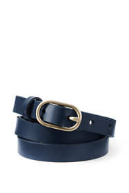 Women's Skinny Leather Belt