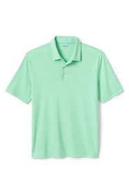 Men's Short Sleeve Solid Oxford Golf Polo