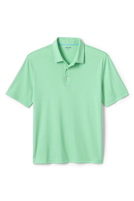 Men's Tall Short Sleeve Solid Oxford Golf Polo
