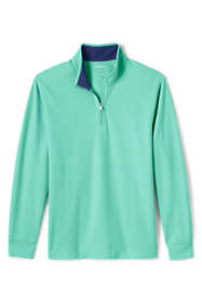Men's Long Sleeve Lightweight Golf Quarter Zip Mock