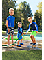 Little Boys' Colourblock Stripe Swim Shorts