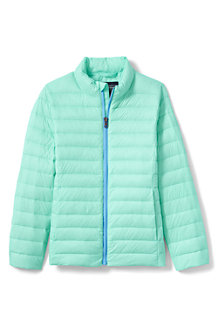 Girls' Lightweight Packable Down Jacket