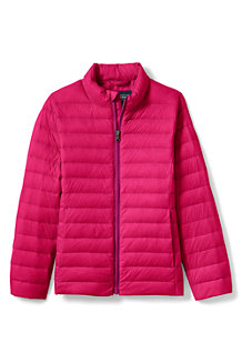 Girls' Ultra Light Packable Down Jacket