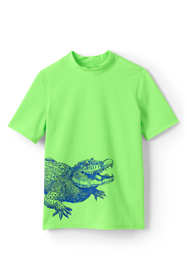 Boys Husky Wrap Around Gator Rash Guard