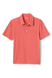 Men's Washed Jersey Polo